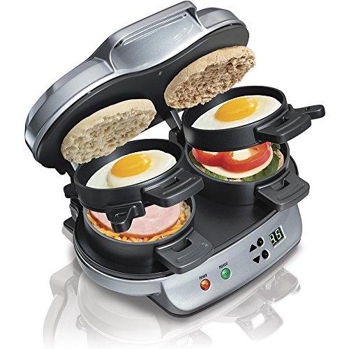 Hamilton Beach® Dual Breakfast Sandwich Maker SKU R2621rezertifiziertes