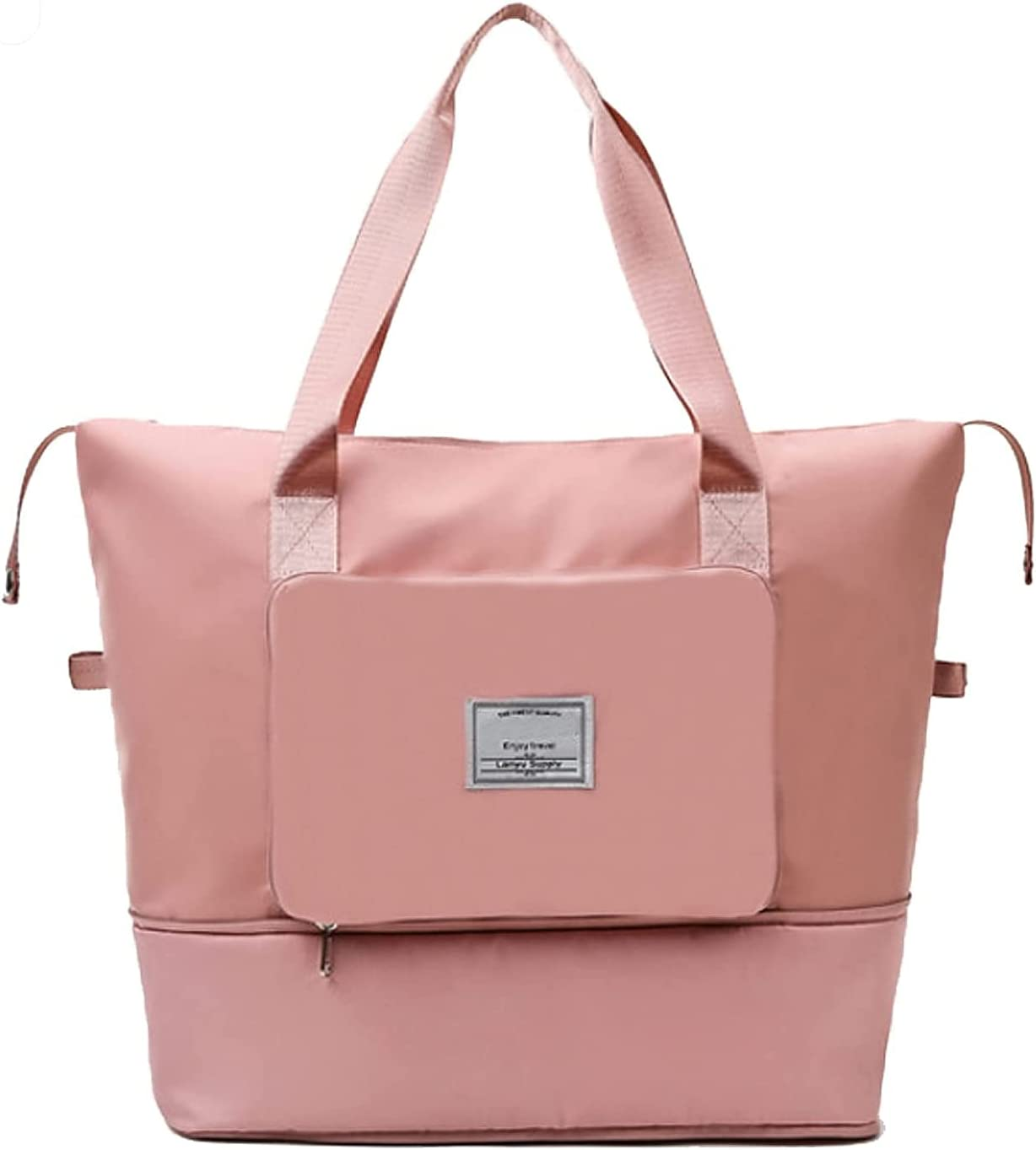 Large Capacity Folding Arlington Mall Travel Manufacturer regenerated product Portable Waterproo Bag Lightweight