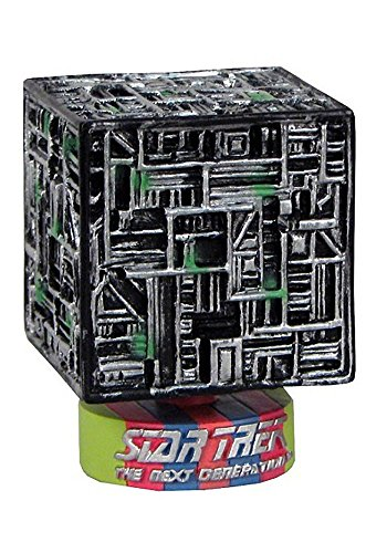 scifiarea.com Star Trek TNG Cabezón Monitor Mate Cubo Borg Toy Fair Exclusive 8 cm
