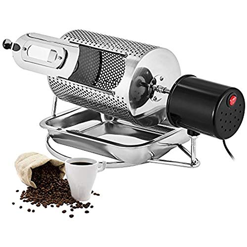 Kaffeebohnenröster 600G Roller Kaffeebohne Röstmaschine Roasting Werkzeugmaschine, Haushaltsgetreidetrocknung, Nuss Röstmaschine,110v