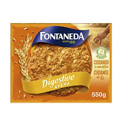 Fontaneda Digestive Galletas con Avena, 550g