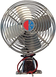 4 HVAC C US (1000641228) Chrome 12V Auxiliary Defrost Fan
