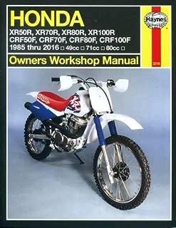 honda xr50r manual
