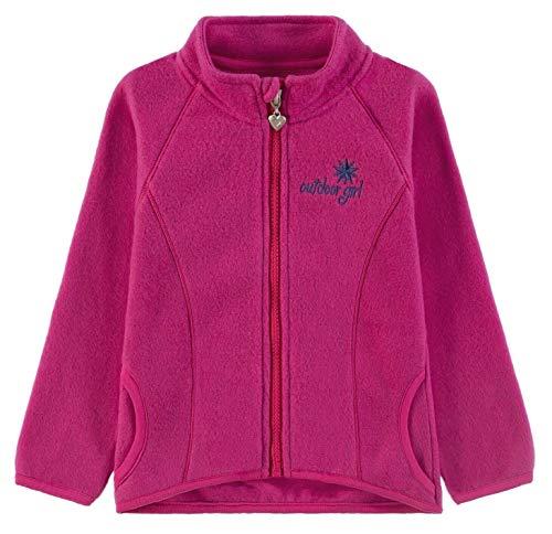 Kanz® Mädchen Fleecejacke, Größe:98, Präzise Farbe:Pink