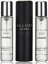 CHANEL Allure Homme Sport eau de toilette Hombres 20 ml - Eau de toilette (Hombres, 20 ml, Botella rellenable, Aerosol)