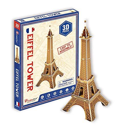 CubicFun Puzzle 3D Torre Eiffel (Tachan S3006h)