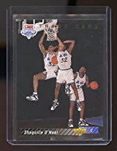 1992-93 Traded Upper Deck Draft #1b Shaquille O'Neal Orlando Magic Rookie Card