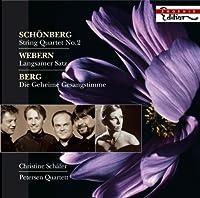 String Quartet No. 2 / Langsamer Satz by SCHOENBERG / WEBERN / BERG (2008-09-30)