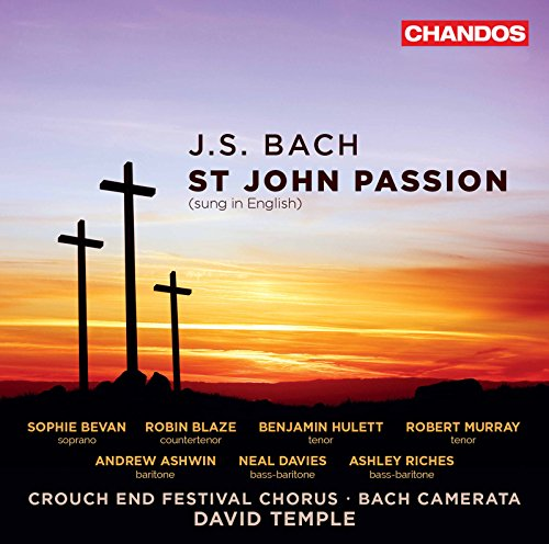St. John Passion, BWV 245, Pt. 1 (Sung in English): No. 19, Ah, My Soul, Where Shall I Hide My Shame
