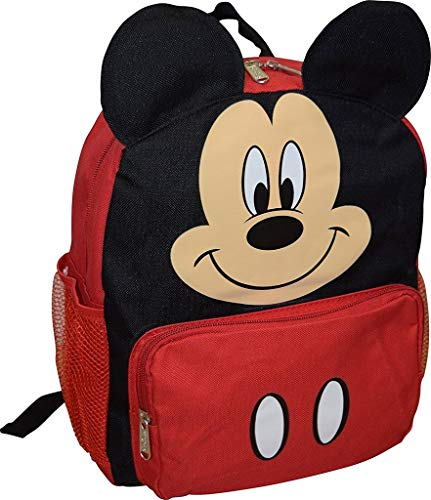 Disney Mickey Mouse Big Face Little Boy 10' Backpack