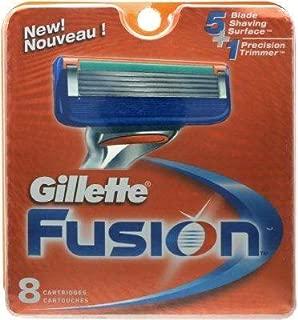 Gillette Fusion Razor 8 Refill Cartridges