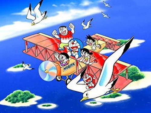 Puzzels 1000 Stuks Voor Volwassenen Kinderen Anime Personages In Het Vliegtuig Houten Kindergeschenken Puzzel Decompressie Decoupeerzagen