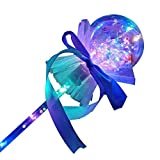 NAUGHTYY MUSKETEERS LED Crystal Ball Flashing Stick Wand Blue