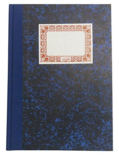 Dohe 9981 - Cuaderno cartoné, rayado horizontal, cuarto natural