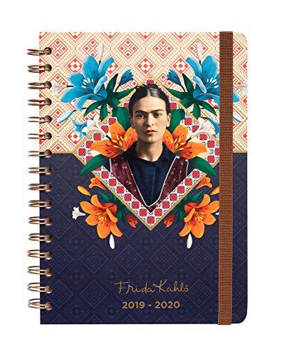 Agenda escolar 2019/2020 A5 12 meses Semana Vista Frida...