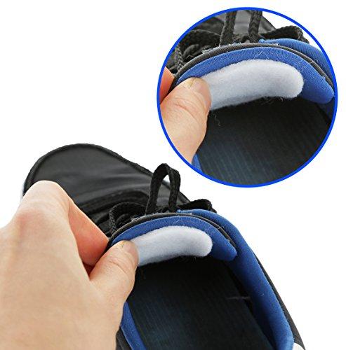 3 Pairs of Felt Tongue Pads Cushion for Shoes (Medium)
