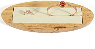 Jewellery Boxes Bracelet Frame Earring Storage Rack Jewelry Display Stand Ring Storage Tray Window Jewellery Display Jewellery Boxes & Organisers (Color : Beige, Size : 20 * 7cm)