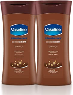 Vaseline Body Lotion Cocoa Radiant, 2 x 400 ml