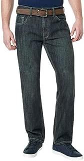 Mens Driven-X Basic Straight Stretch Jean (30x32, Dark)