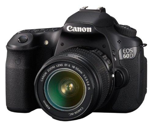 Canon EOS 60D - Cámara Réflex Digital 18 MP (Objetivo EF 18-55mm ...
