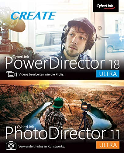 CyberLink PowerDirector 18 Ultra & PhotoDirector 11 Ultra Duo | PC | PC Aktivierungscode per Email