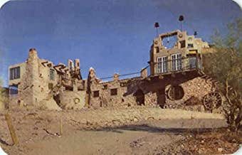 The Mystery Castle Phoenix, Arizona Original Vintage Postcard