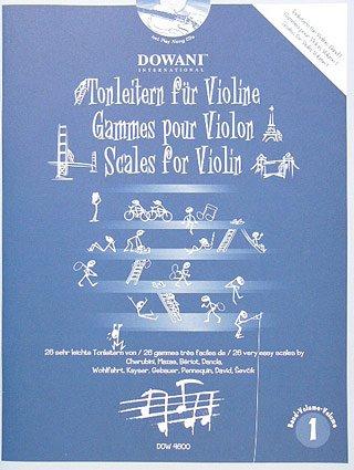 Verlag Dowani TONLEITERN Fuer Violine 1 - arrangiert für Violine - mit 2 CD´s [Noten/Sheetmusic]
