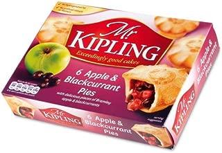 Mr Kipling Pies - Bramley Apple and Blackcurrant - 6 Pack