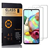 The Grafu Screen Protector for Galaxy A71, Ultra Thin Tempered Glass Screen Protector, 9H Hardness Screen Protector Compatible with Galaxy A71, 2 Pack