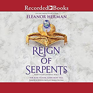Reign of Serpents audiobook cover art