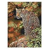 Cheetah DIY Hecho a Mano Costura contado 14CT Impreso Kit de Bordado de Punto de Cruz Hilos de Punto de Cruz dmc 200 Colores