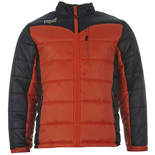 Everlast Herren Jacke Steppjacke, orange, L