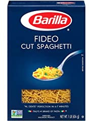 2 Boxes - 16 Ounces Each FIDEO CUT SPAGHETTI Ideal for Making Soup
