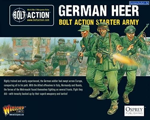 Bolt Action German Heer Starter Army by Bolt Action