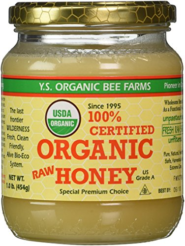 YS Organic Bee Farms  Organic Honey 16 oz gel