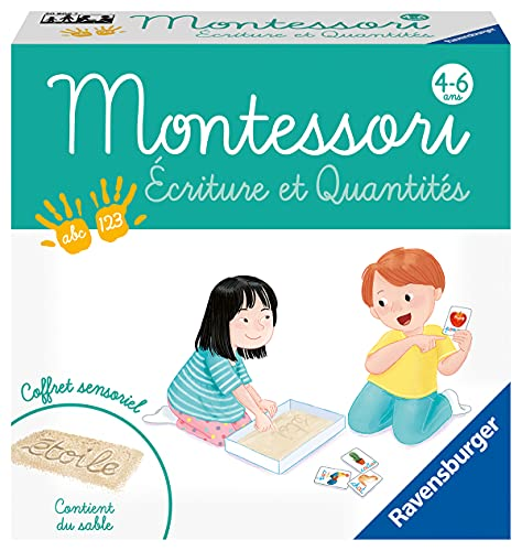 Jeu Montessori 4 ans