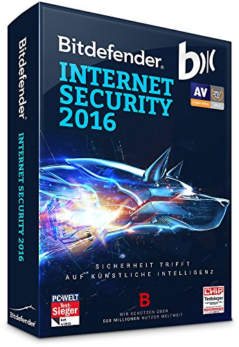 Bitdefender Internet Security 2016 3 PC / 1 Jahr (Lizenz)