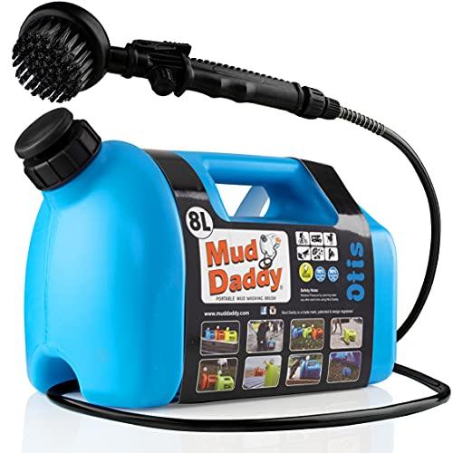 Mud Daddy Portable Washing Device, 8 Litre, Blu