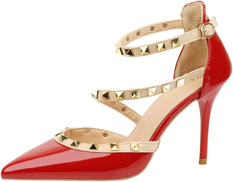 Linson123 Women's high Heel high Heel Pointed shoes Sexy Elegant Stiletto Heel shoes