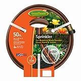 Green Thumb 2030-50 Sprinkler Hose, Twin-Tube, Brown Vinyl, 50-Ft. - Quantity 4