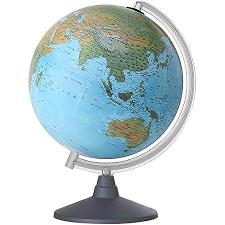 地球儀 30cm 地勢図 子供用 学習 インテリア オルビス Orbys イタリア製
