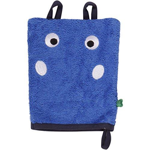 Fred'S World By Green Cotton Hippo Wash Glove Gants, Blau (Royal Blue 019415001), Taille Unique Bébé garçon