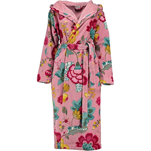 PiP Studio Bademantel Floral Fantasy Sauna Frottee Pink Größe XS