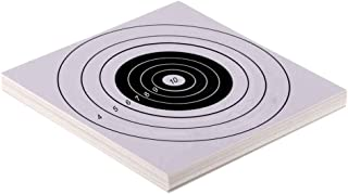YouOK Archery Paper Target - Shooting Target Paper Cardboard Targets for Bow - Arrow - Recurve Compound Bow - Slingshot - Hunting Archery Accessories (25PCS,8.5 inch × 8.7 inch)