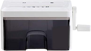 $122 Get AXsuizhiji Shredder Mini Home Manual Office Mute Granular Disc Desktop Small Shredded Paper
