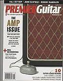 PREMIER GUITAR Magazine August 2013, The AMP Issue, Rig Rundowns, John Scofield.