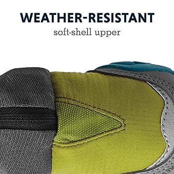Ruffwear Bottines grand froid pour chien (Lot de 2), Chiens de très petite taille, Taille: 44 mm, Vert (Forest Green), Polar Trex, P15301-307175