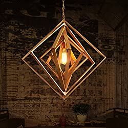 Hines 1-Light Chinese Hand Made Bamboo Chandelier