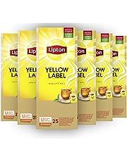 Lipton Yellow Label Zwarte Thee - 6 x 25 zakjes