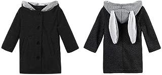 Zhhlinyuan Kids Little Girls Winter Warm Coat Cloak Jacket Hoodies 4758#